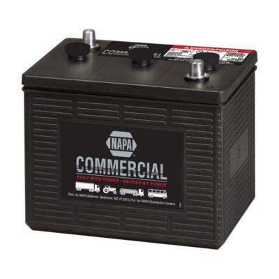 battery automotive commercial 6 volts group 2 675 cca. Black Bedroom Furniture Sets. Home Design Ideas