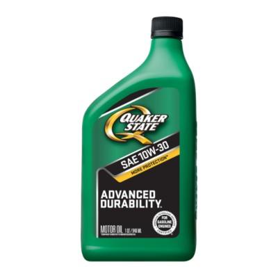 Quaker State Advanced Durability 10w30 Motor Oil 1 Qt Qo