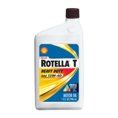 Shell rotella t triple protection 15w40 motor oil 1 qt for Buy motor oil online