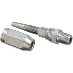 3.18 1//4 ID 2 Wire Gates 4C2AT-4RMPX Field Attachable Type T for G2 Hose Male Pipe Swivel NPTF Without 30 Cone Seat