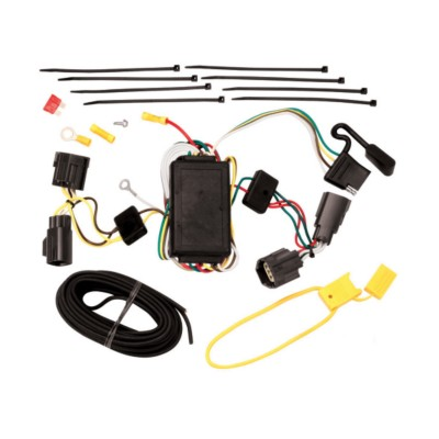 Trailer Wiring Harness - Tow Vehicle - Custom BK 7552364 ... on trailer hitch harness, trailer generator, trailer brakes, trailer fuses, trailer mounting brackets, trailer plugs,