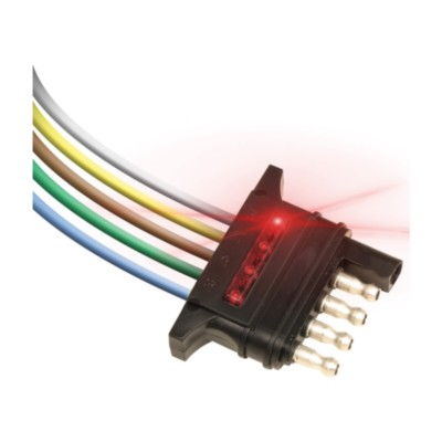 Trailer Wiring Connector, Circuit Tester on
