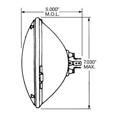 NAPA Lamps Light Bulb LMP 6014