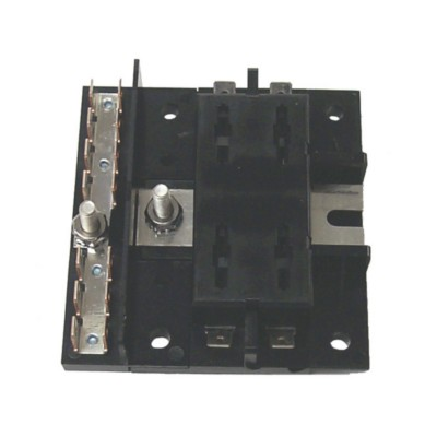 Fuse Block w/ Buss Bar - Universal Marine on house circuit breaker for fuse box, marine wiring fuse box, circuit breaker vs fuse box,