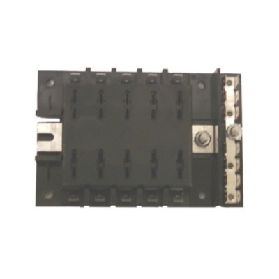 fuse block w/ buss bar - universal marine sme fs40740 ... universal fuse box automotive napa universal fuse box #2