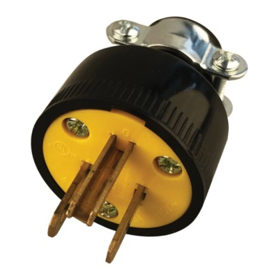 Electrical Plug, Cord End, 3 Wire on 3 phase plug, 3 wood plug, 3 prong plug, 3 pin plug, 2 wire plug, 6 wire plug, 4 wire plug,