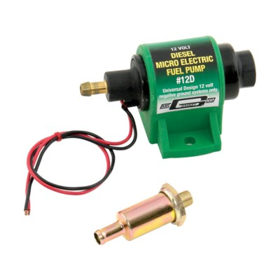 Micro Electric Sel Fuel Pump 12v 7 Psi Bk 7357302