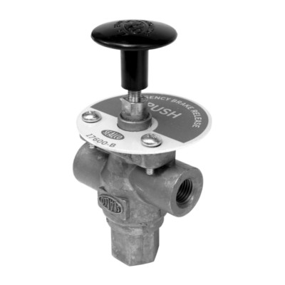 sealco air valve - air brake - dash push-pull - new twd 17600b