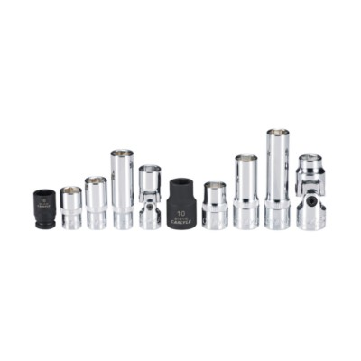Carlyle Hand Tools SS38019M Socket Set