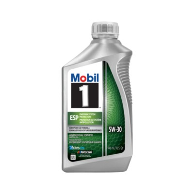 Mobil 1 ESP Motor Oil 5W30 Full Synthetic 1 qt (US) MOB 124044-1