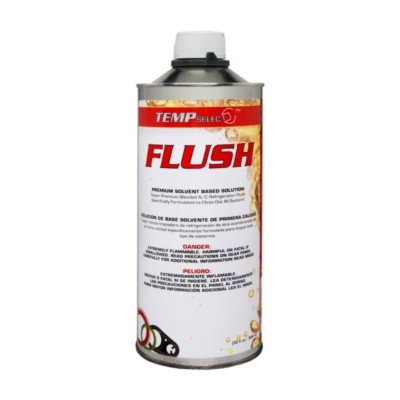 Air Conditioning Flush Solvent - R134a & R12 - 1 qt