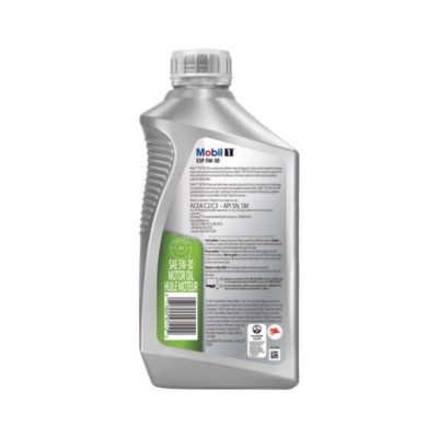 Mobil 1 ESP Motor Oil 5W30 Full Synthetic 1 qt (US) MOB 124044-2