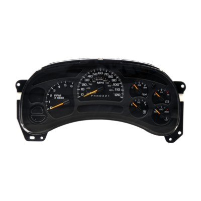 gmc envoy instrument cluster replacement