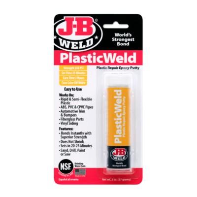 Epoxy Adhesive, JB Plastic Weld, 2 oz NCB 8237-1