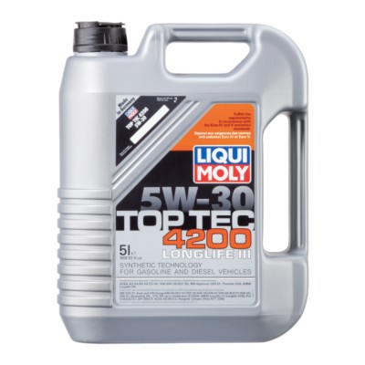 liqui moly top tec 4200 5w30 motor oil 5 l aic lm2011. Black Bedroom Furniture Sets. Home Design Ideas