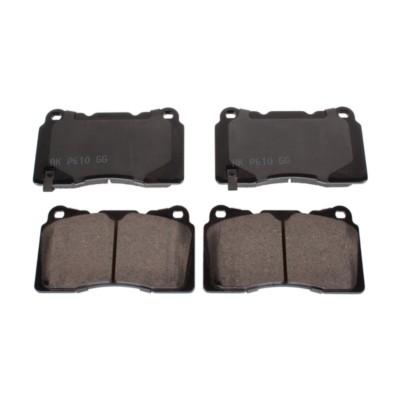 Akebono Performance ASP1001 Akebono Performance Ultra Premium Ceramic Disc Brake Pad Kit