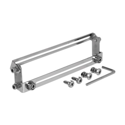 License Plate Holder Frame Universal Dual Pivot
