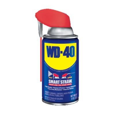 WD-40 Multi-Use Product with SMART STRAWSPRAYS 2 WAYS, 8 OZ WD 49002-1