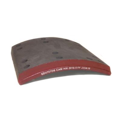Brake Shoe Friction Block / Lining - H/D Truck 4707 Haldex