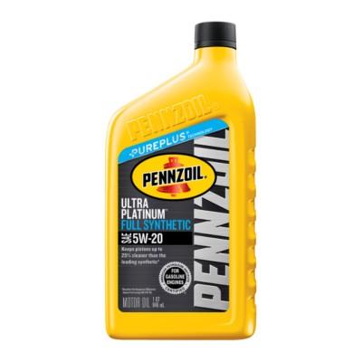 Pennzoil Ultra Platinum Motor Oil 5W20 Full Synthetic 1 qt (US) PEN 550040863-1