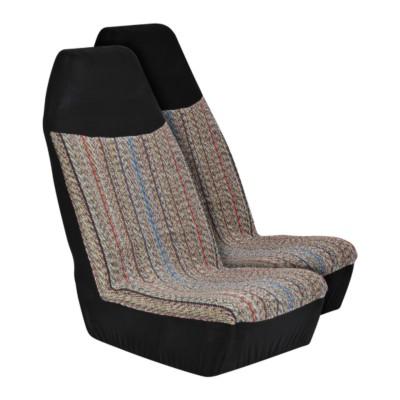 Pinstripe Saddle Blanket Bucket Seat Cover BK 7302652 | Buy Online ...