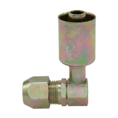 NAPA Air Conditioning Hose End - 90 Degree Compression Fitting TEM