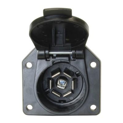 Trailer Wiring, Seven Pole RV Style Connector Socket BK 7555011 | Car Parts  & Truck Parts | NAPA Auto Parts | Napa 7 Way Trailer Plug Wiring Diagram |  | NAPA Auto Parts