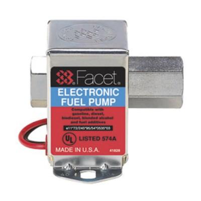 Fuel Pump Electric Cube 25 Gph 1 5 4 0 Psi Facet