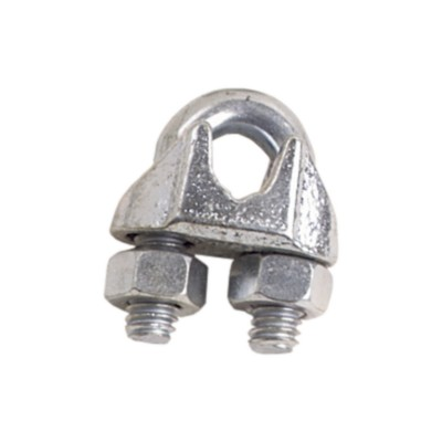 Cable Clamp / Wire Rope Clip Galvanized malleable iron base. Zinc ...