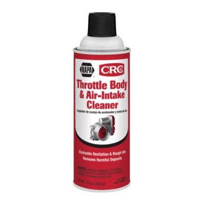 Fuel Injection & Air Intake Cleaner 12 oz CRC Throttle Body Cleaner