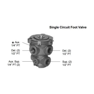 Air Brake Valves Foot New Hd Truck Twd H277863 Buy Online