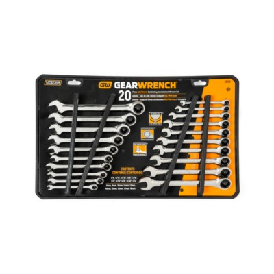 GearWrench 20 mm Combination Ratcheting Box Wrench Hand Tool Metric Mechanic Car