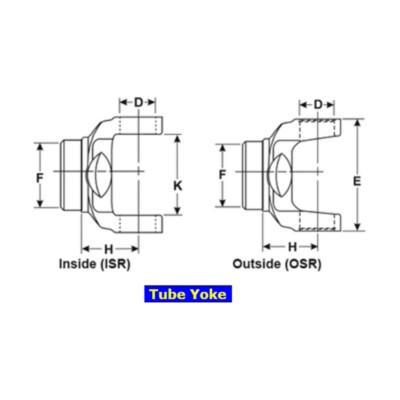 Dana Spicer Driveshaft Center Tube Yoke TWD 6528117 | Buy Online
