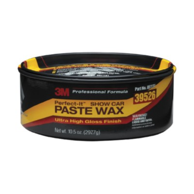 waxes cleaners polishes 3m perfect it show car paste wax 10 5 oz paste polish mmm 39526. Black Bedroom Furniture Sets. Home Design Ideas