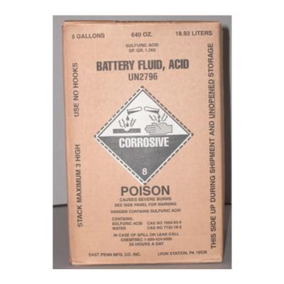 Battery Acid NAPA Batteries BAT 9000-1
