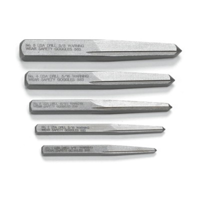 SCREW EXTRACTOR SET 5PC DOUBLE EDGE FROM SEALEY AK752 SYP