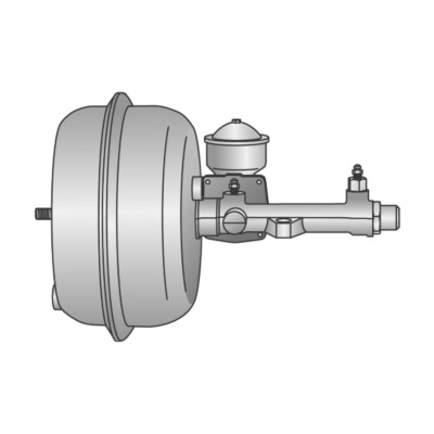 Vacuum Brake Boosters - Remfd - H/D Truck Midland Haldex