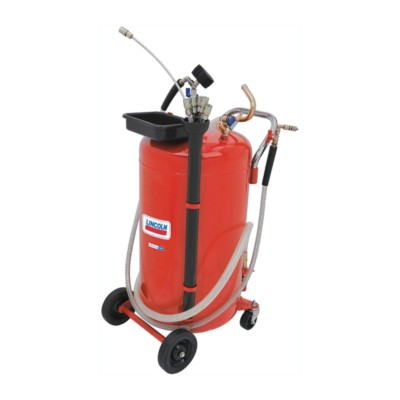 rolling drains drain lifts lincoln for dannmar portable exchange equipment gallon fluid shop oil