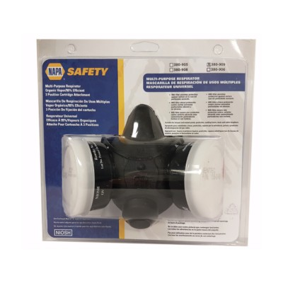 Safety Air Purifying Respirators - Half Mask NSE 380909 | Buy Online