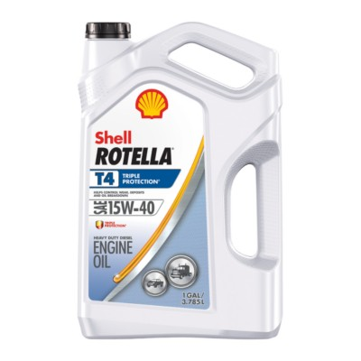 Shell Rotella T4 >> Shell Rotella T4 Triple Protection Motor Oil 15w40