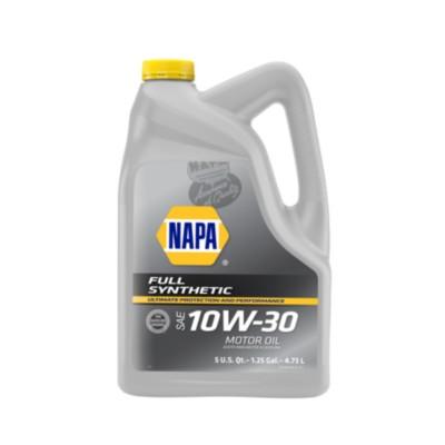 Napa full synthetic 10w30 motor oil 5 qt nol 75501 buy for Buy motor oil online