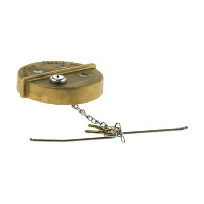 Gas Cap, Heavy Duty Fuel Cap, Locking, 4 1/4 in  Diameter BK 7031798