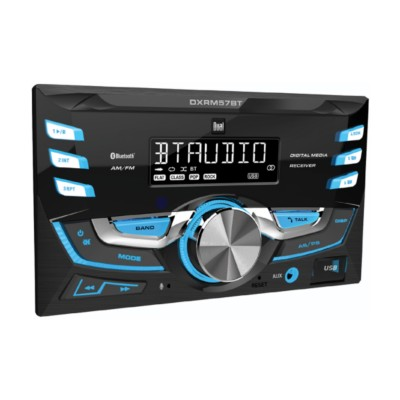 Stereo - Automotive, Double DIN Mechless Bluetooth on