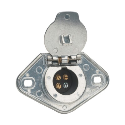 Trailer Connector Cord Sockets Phillips Industries PHI 15400 | Buy on trailer plugs, trailer hitch harness, trailer mounting brackets, trailer generator, trailer fuses, trailer brakes,