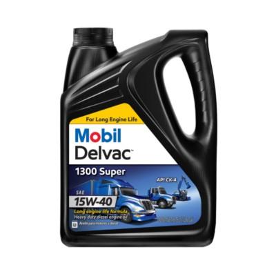 Mobil delvac 1300 super 15w40 motor oil 1 gal mob 122492 for Mobil motor oil rebate
