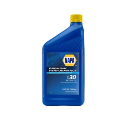 Napa Premium Performance Sae 30 Motor Oil 1 Qt Nol 75110