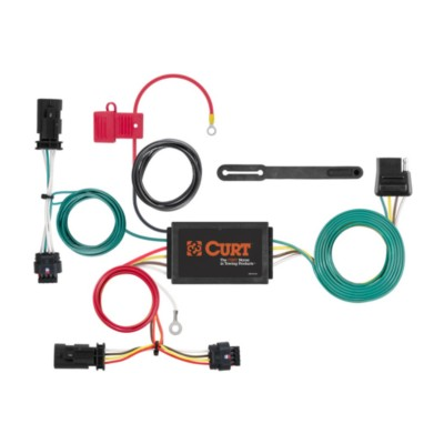 Trailer Wiring Harness Adapter - Tow Vehicle BKN CUR56354 ... on