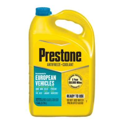 Prestone European Ready To Use Antifreeze 1 Gal Paf Af6100 Buy