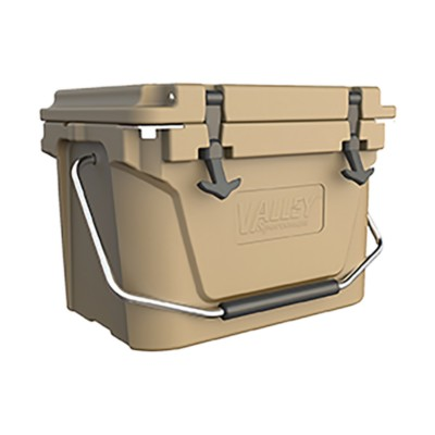 Cooler, 20 Qt  Roto-Molded Tan