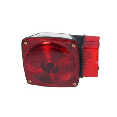 Lamp Stop Turn Tail Utility Trailer Lighting Kit Red